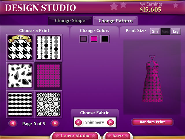Crossword Clothing Designer Cole Clothes Designing Games For