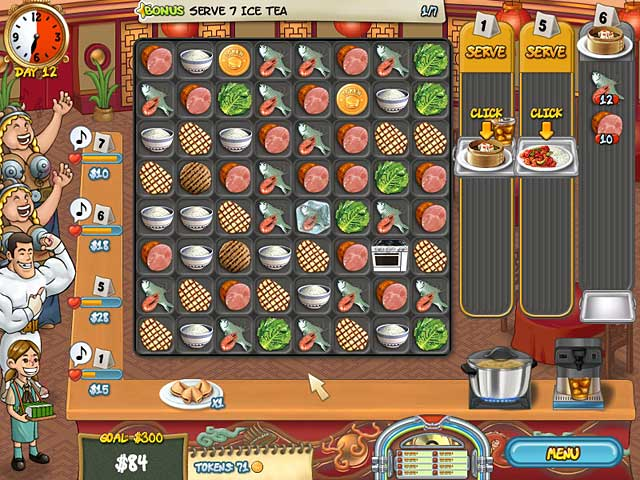 of game Restaurant Rush click any image upper to enlarge it