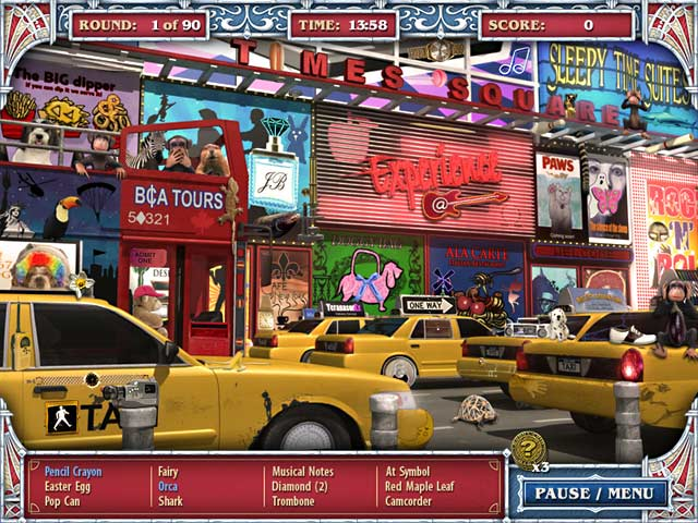 To view any screenshot of game big city adventure: new york city click